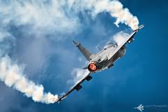 SAAB JAS 39C Gripen (lloydh.co.uk) Tags: tattoo flying nikon fighter force sweden aircraft aviation military air jet royal fluff airshow international jas saab vapour 2012 riat afterburner 39c gripen d300s saabjas39cgripen lloydhphotography swedishgripen