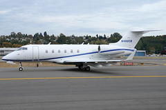 Private N480CB (Drewski2112) Tags: seattle county field airport king international boeing 300 challenger bombardier bfi kbfi cl30 n480cb