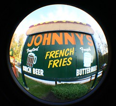 Hot Dog Johnny's - Buttzville, NJ - Fisheye (Tim Loesch) Tags: hot nj johnny buttzville route46 hotdogjohnnies
