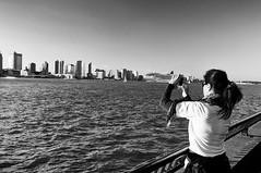 Along the Esplanade, Sunday. (Jay Fine) Tags: jerseycity photographer esplanade cruiseship hudsonriver batteryparkcity