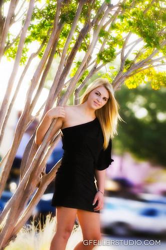 Fashion Senior Photo in OKC