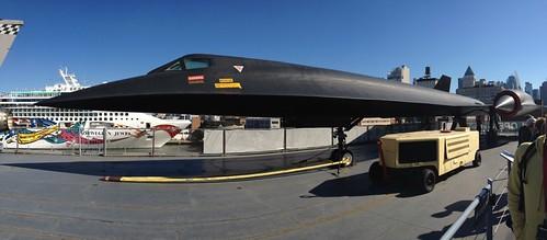 世界最速のステルス偵察機。@ Intrepid Museum