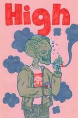 high (jeremy pettis) Tags: halloween fun sketch great drawings jeremy doodle markers inspiring pettis atomicsketch
