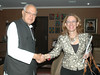 Rebeca Grynspan meets Farooq Abdullah, Minister of New and Renewable Energy
