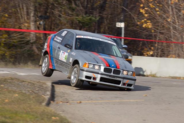 Marc-André Larose / Yves Lafrenière - Rallye de Charlevoix 2012