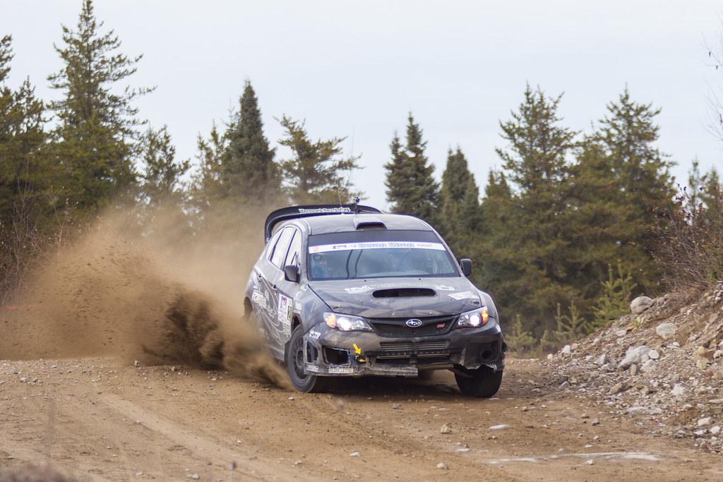 Steeve Hobbs / Jean-Mathieu Tremblay - Rallye de Charlevoix 2012