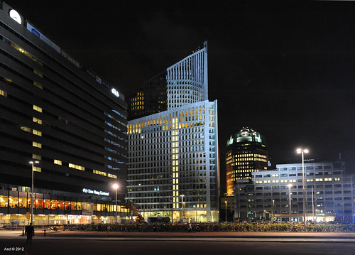 The Hague, Evening Skyline