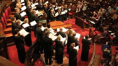 The Minnesota Chorale perform prior to Michael Feinstein