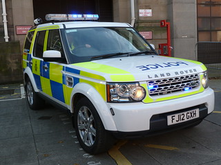 Nottinghamshire Police Land Rover Discovery Motorway Unit FJ12 GXH