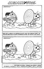 Encontre os 7 erros com a Turma da Mônica. (Atividades Educação Infantil) Tags: passatempos turmadamônica jogodos7erros