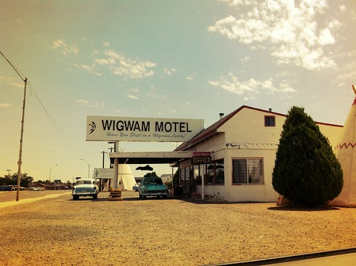 "Wigwam Hotel Old Route 66 - Holbrook Arizona • <a style=""font-size:0.8em;"" href=""http://www.flickr.com/photos/20810644@N05/8142777993/"" target=""_blank"">View on Flickr</a>"