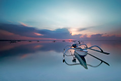 bali (tut bol) Tags: bali sunrise boat long exposure transportation tuban kuta