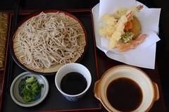 Tempura Seiro Soba AUD17 - Shimbashi (avlxyz) Tags: food cold melbourne soba vic noodle japanesefood tempura shimbashi chilled deepfried seiro coldnoodle melbournevic chillednoodle shimbashisobasakebar shimbashisobaandsakebar