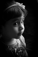 Thinking B&W (Ali Bin Abdullah) Tags: kids canon studio 50mm child flash f 18 softbox 500d