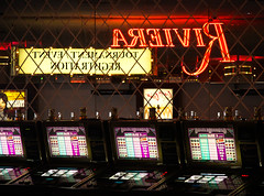 double diamond (thermophle) Tags: gambling reflection riviera lasvegas casino slots doublediamond