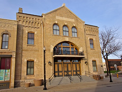 Opera House, Oshkosh, WI (Robby Virus) Tags: music house building wisconsin hall opera grand historic performances oshkosh audiences