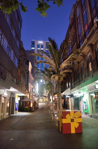 Vulcan Lane by night