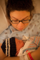 Amy and Llewelyn (patrickjoust) Tags: llewelyn james joust baby boy newborn amy canon eos 5d baltimore maryland usa us united states north america estados unidos child 50mmf12ai ef 40mm f28 stm slr dslr digital 35mm full frame single lens reflex hand held son patrick patrickjoust happy welly