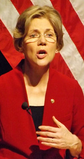 From http://www.flickr.com/photos/13589279@N05/8350950343/: Elizabeth Warren