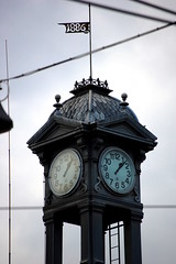 Karlsruhe - Alte Uhr (Xver) Tags: karlsruhe 1886 uhr