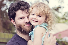 10/365 - Daddy Daughter love <3 (Bridie Murray) Tags: love canon daddy beard evening hug toddler dad afternoon father daughter 2ndyear curls photoaday 365 2470l 1365 2470mm 356project canon7d