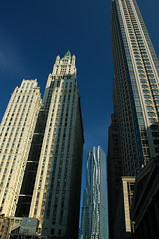Evolution (DJ Axis) Tags: new york sky ny building tower feet by architecture skyscraper frank different wind manhattan steel first style blowing gehry structure age woolworth tall walls residential ever stainless barclay scrapper curving beekman 870