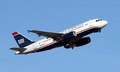 US Airways Airbus A319-132 N836AW (ChrisK48) Tags: 2005 airplane aircraft phx usairways a319 319 phoenixaz airbusindustrie kphx phoenixskyharborairport airbusa319132 n836aw