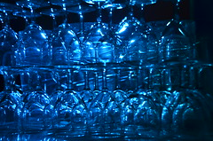 Verre bleu (Agns Laure) Tags: blue france reflection glass pyramid bleu reflet pyramide verre saintpourain rgionauvergne nikond7000