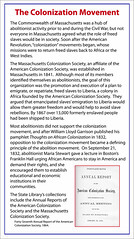 The Colonization Movement (State Library of Massachusetts) Tags: massachusetts civilwar africanamericans liberia colonization abolitionists williamlloydgarrison freedslaves americancolonizationsociety mariastewart colonizationmovement thoughtsofamericancolonizations franklinhull