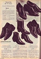 Mod Shoes 4 - Eaton's Catalog 1966 (Patrick from Parka Avenue) Tags: mod shoes 1966 carnabystreet mods 60sfashion chelseaboots parkaavenue