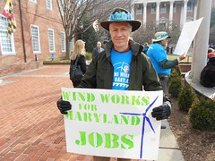 Offshore Wind Rally Opening Day 2012 (Maryland Sierra Club) Tags: wind offshore rally january maryland annapolis 2012 osw offshorewind