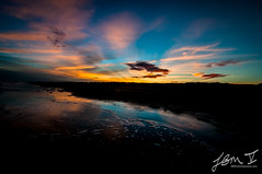 Just another sunset (JBMVphotography) Tags: ocean sunset red orange beach water clouds landscape nikon colorful texas tropical padreisland mustangislandstatepark tpwd