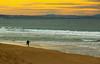 O Surfista desconhecido (JoFigueira) Tags: sunset sea sky praia beach portugal yellow mar sand surf waves areia surfer céu pôrdosol ondas peniche núvens surfista supertubos yellowsky praiadesupertubos
