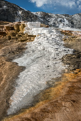 Mammoth Hot Springs (HubbleColor {Zolt}) Tags: travel yellowstonenationalpark mammothhotsprings wy wyoming unitedstates us