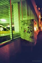 imm008_8A (coloredsteel) Tags: leica m6 kodak colorplus 200 graffiti ulm train writing bombing trainspotting coloredsteel streetart analog street photography voigtlnder vc nokton 35mm f14 classic mc