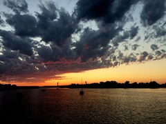 Coney Island bay (Eugene Rapp) Tags: coneyisland sun bridge bay river beautifu amazing stunning photography photo landscape clouds color sky nature usa newyork nyc sunset