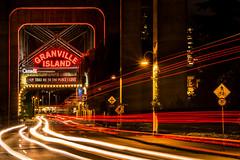 Under The Bridge - Vancouver, BC (Michael Thornquist) Tags: granvilleisland falsecreek granvillebridge redhotchilipeppersrhcp vancouverphotos vancouver britishcolumbia dailyhivevan vancitybuzz vancouverisawesome veryvancouver 604now photos604 explorecanada ilovebc vancouverbc vancouvercanada vancity pacificnorthwest pnw metrovancouver gvrd canada lightstreaks longexposure