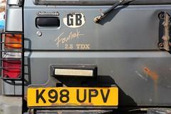 K98 UPV (1) (Nivek.Old.Gold) Tags: 1993 daihatsu fourtrak 28tdx turbo diesel intercooler challacombes burystedmunds