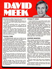 Manchester United vs Aston Villa - 1980 - Page 7 (The Sky Strikers) Tags: manchester united aston villa football league division one old trafford review 20p