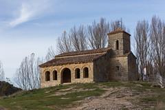 Ermita de Santa Cecilia, Santo Domingo de Silos, Burgos (pitujrg) Tags: burgos santo domingo de silos yecla ermita church santa cecilia