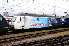 BLS Re 465 001-6 Simplon, Connecting Europe, Basel Bad Bhf