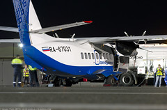 _DSC7076 (southspotterman1) Tags: l410 airplanes spotting unoo inomsk omsk airport     410  nightspotting