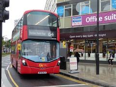 19 August 2016 Croydon (13) (togetherthroughlife) Tags: 2016 august croydon surrey bus whv68 metrobus 64 bf65wjv