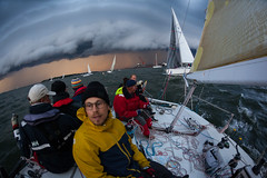 Helsinki-Tallinna Race (Antti Tassberg) Tags: 15mm 2016 action cloud eps fisheye helsinki htr pilvi prime purjehdus purjevene race rain regatta sade sailing sailingboat sport tallinna teknopump yacht