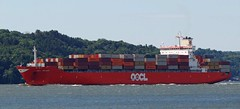OOCL Belgium (Jacques Trempe 2,400K hits - Merci-Thanks) Tags: quebec canada stefoy ship navire fleuve river stlaurent petrolier stlawrence conteneur container oocl belgium