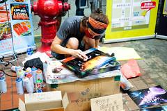 Street Artist (Bowen Chin) Tags: hongkong fujifilm fujifilmx fujifilmxe2