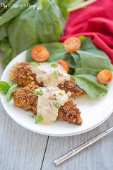 Chicken with Basil C (alaridesign) Tags: chicken with basil cream sauce