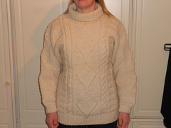 Women in husbands stylish fisherman sweater (Mytwist) Tags: nick22s unisex white cream aran gay sweatergirl knitwear sexy girl woman woolfetish fetish fashion fisherman female cabled craft cozy classic rollneck turtleneck rollkragen retro fantasy lady laine ivory warm ebay webfound bulgaria exclusive style modern passion love wife handgestrickt handknit heavy collar