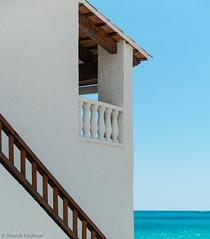 Seascape. (Jannik K) Tags: sea meer meerblick seascape spain roda de bara spanien blau blue sky wasser weis samsung nx1 building architecture frame chill