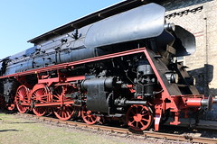 Dampflok 01 1531-01, Schnellzuglokomotive (julia_HalleFotoFan) Tags: dbmuseumhalle museum eisenbahn eisenbahnmuseum sommerfest hallesaale